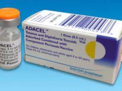 Vaccine Tdap for Adacel Tetanus Diphtheria Pertussis