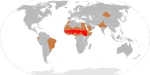 Meningitis Epidemics World Map